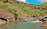 Fishing the Hawerspruit